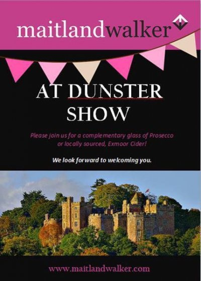 Dunster Show- Friday 18th August 2017