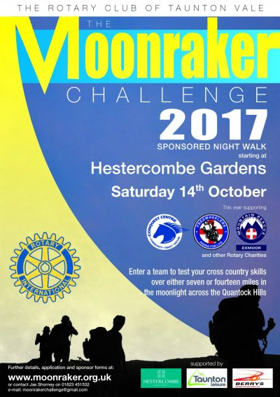 Moonraker Challenge- Saturday 14 October 2017